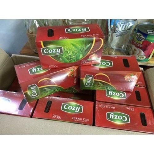 Trà cozy hương dâu -bạc hà hộp 25 gói 50gram- hộp lớn - 10918485 , 13256424 , 15_13256424 , 22000 , Tra-cozy-huong-dau-bac-ha-hop-25-goi-50gram-hop-lon-15_13256424 , sendo.vn , Trà cozy hương dâu -bạc hà hộp 25 gói 50gram- hộp lớn