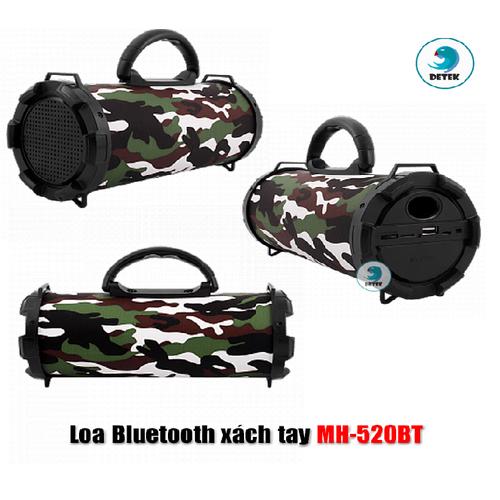 Loa Bluetooth xách tay MH 520BT Họa tiết ngẫu nhiên