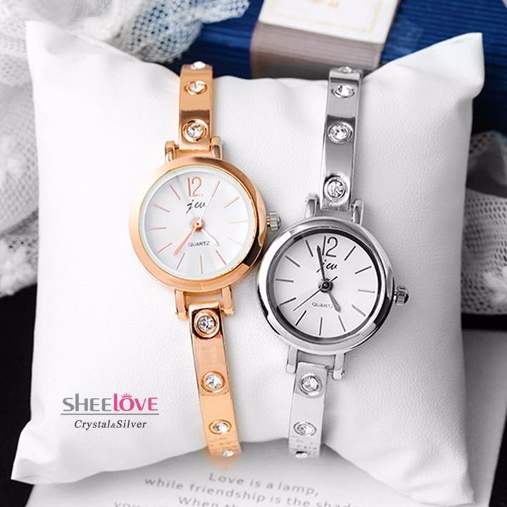 Đồng hồ lăc tay nữ thời trang chống nước - Đồng Hồ Nữ Lắc Tay Hàn Quốc Cater