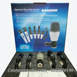 Bộ 5 micro trống Samson | Micro Drum