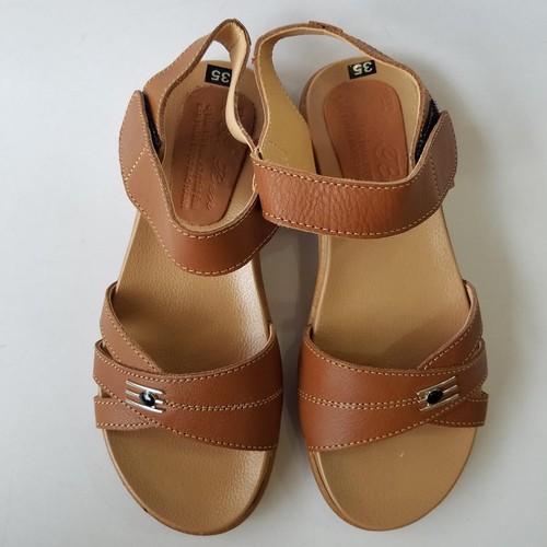 Dép Quai Hậu Sandal Nữ Da Bò Thời Trang - JZ0947