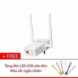 [GIAO 3H HCM] Thiết Bị Mở Rộng Vùng Phủ Sóng WiFi TOTOLINK EX200 Tặng đèn LED USB - Hãng Phân Phối Chính Thức