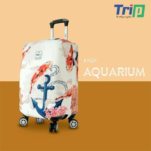 Áo trùm vali TRIP vải thun co dãn size S