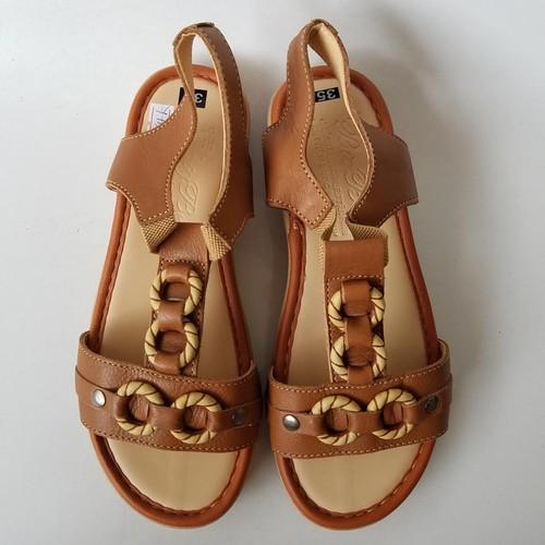 Dép Quai Hậu Sandal Nữ Da Bò Thời Trang - JZ0944