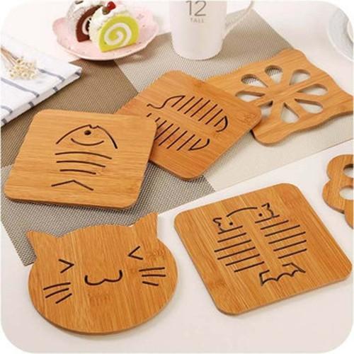 Đĩa gỗ đựng bánh hình vuông khắc rỗng xương cá cú mèo lót ly gỗ lót nồi gỗ coaster - 6583348 , 13246666 , 15_13246666 , 25000 , Dia-go-dung-banh-hinh-vuong-khac-rong-xuong-ca-cu-meo-lot-ly-go-lot-noi-go-coaster-15_13246666 , sendo.vn , Đĩa gỗ đựng bánh hình vuông khắc rỗng xương cá cú mèo lót ly gỗ lót nồi gỗ coaster