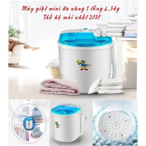 Máy giặt mini đa năng 1 lồng 4.5Kg