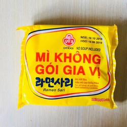 Mỳ Không Gia Vị Hàn Quốc