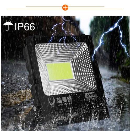 Bộ Đèn Pha Led Ngoài Trời Siêu Sáng 50W - IP66 Ánh Sáng Trắng - Loại Cao Cấp