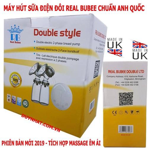 Máy hút sữa điện đôi real bubee nhập khẩu từ Anh Quốc - 4545371 , 13250085 , 15_13250085 , 600000 , May-hut-sua-dien-doi-real-bubee-nhap-khau-tu-Anh-Quoc-15_13250085 , sendo.vn , Máy hút sữa điện đôi real bubee nhập khẩu từ Anh Quốc