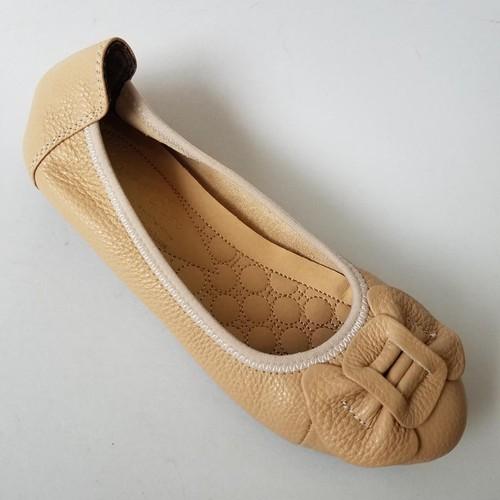 Giày Búp Bê Nữ Da Bò - G5652