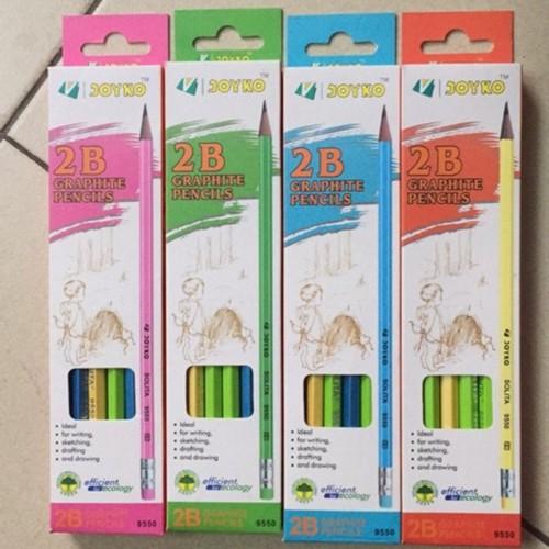 Set 3 bút chì gỗ 2B