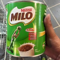Sữa Milo Úc hộp 750grm
