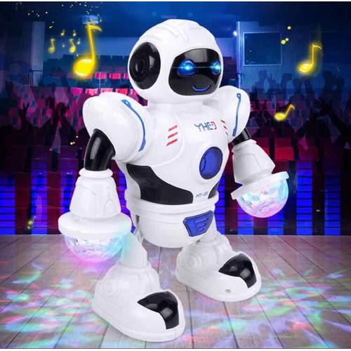 Robot nhảy múa phát nhạc flash