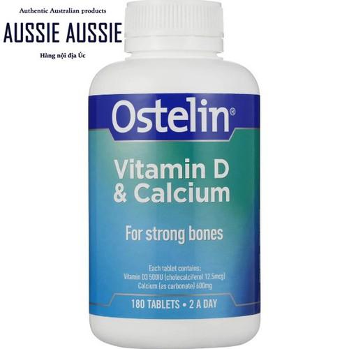 Viên uống bổ sung Vitamin D & Canxi cho người lớn bà bầu Ostelin Vitamin D & Calcium 180 viên - 4547959 , 13280161 , 15_13280161 , 549000 , Vien-uong-bo-sung-Vitamin-D-Canxi-cho-nguoi-lon-ba-bau-Ostelin-Vitamin-D-Calcium-180-vien-15_13280161 , sendo.vn , Viên uống bổ sung Vitamin D & Canxi cho người lớn bà bầu Ostelin Vitamin D & Calcium 180 vi