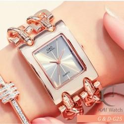 Đồng hồ nữ G & D-G25 Thời trang cao cấp - Kai Watch