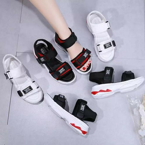 Sandal 2 quai phong cách Hàn mẫu mới