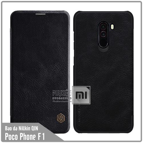 Bao da Xiaomi Poco Phone F1 Nillkin Qin - đen - 4471587 , 13277780 , 15_13277780 , 160000 , Bao-da-Xiaomi-Poco-Phone-F1-Nillkin-Qin-den-15_13277780 , sendo.vn , Bao da Xiaomi Poco Phone F1 Nillkin Qin - đen