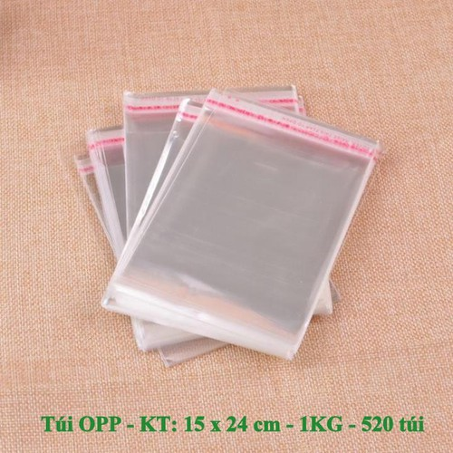 Túi OPP băng keo dán miệng - size 15 x 24 cm - 1kg khoảng 520 túi - 6601247 , 13267521 , 15_13267521 , 84000 , Tui-OPP-bang-keo-dan-mieng-size-15-x-24-cm-1kg-khoang-520-tui-15_13267521 , sendo.vn , Túi OPP băng keo dán miệng - size 15 x 24 cm - 1kg khoảng 520 túi