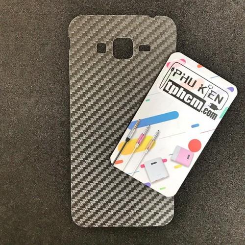 Dán mặt lưng Carbon Samsung J2 Prime
