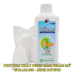 Clincare dung dịch rửa tay sát khuẩn nhanh 500ml - 113432