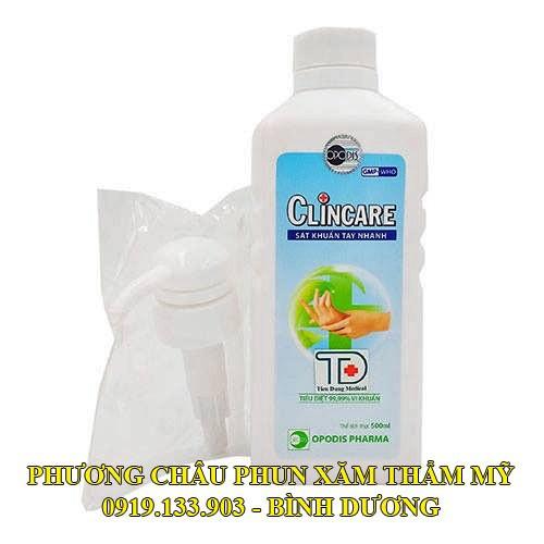 Clincare dung dịch rửa tay sát khuẩn nhanh 500ml - 4547924 , 13280105 , 15_13280105 , 85000 , Clincare-dung-dich-rua-tay-sat-khuan-nhanh-500ml-15_13280105 , sendo.vn , Clincare dung dịch rửa tay sát khuẩn nhanh 500ml