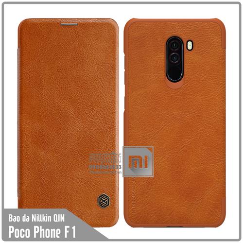 Bao da Xiaomi Poco Phone F1 Nillkin Qin - nâu - 6610155 , 13278025 , 15_13278025 , 160000 , Bao-da-Xiaomi-Poco-Phone-F1-Nillkin-Qin-nau-15_13278025 , sendo.vn , Bao da Xiaomi Poco Phone F1 Nillkin Qin - nâu
