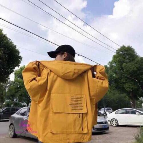 áo khoác chống nắng áo khoác kaki túi hộp