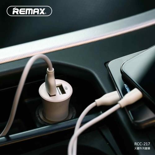 sạc điện thoại trên ô tô REMAX RCC 217
