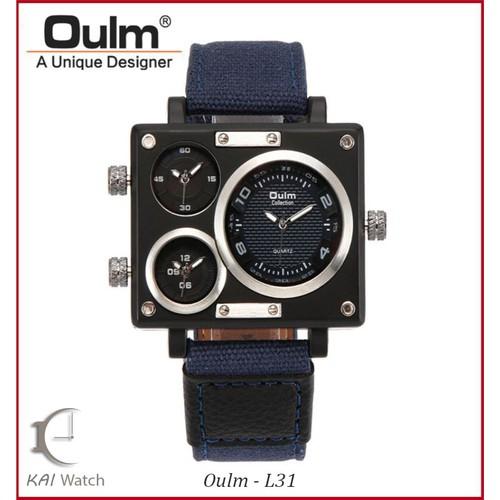 Đồng hồ nam dây dệt OULM - L31 -Phiên bản quốc tế đẳng cấp châu âu - KAI WATCH
