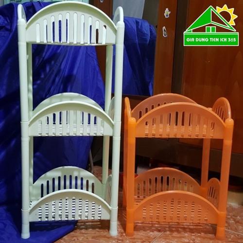 Kệ để đồ nhà bếp 3 tầng nhựa Việt Nhật - Kệ mỹ phẩm - 6596114 , 13261523 , 15_13261523 , 100000 , Ke-de-do-nha-bep-3-tang-nhua-Viet-Nhat-Ke-my-pham-15_13261523 , sendo.vn , Kệ để đồ nhà bếp 3 tầng nhựa Việt Nhật - Kệ mỹ phẩm