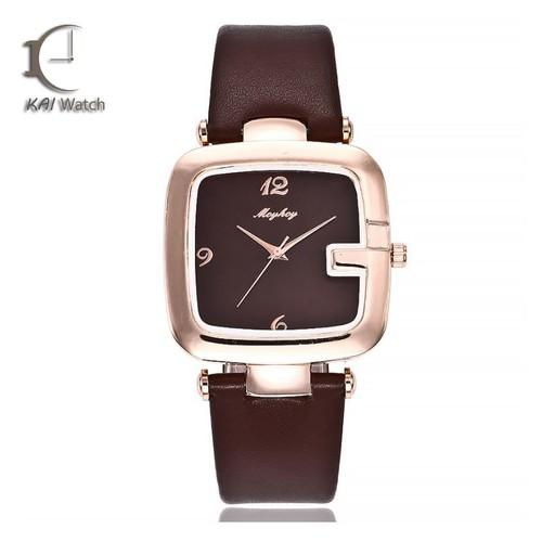 Đồng hồ nữ dây da MCYKCY - M26 Độc nhất tại việt nam - Kai Watch