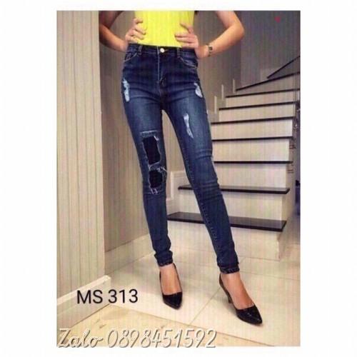 Quần jeans nữ dài giá rẻ