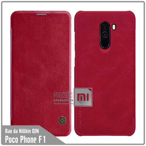 Bao da Xiaomi Poco Phone F1 Nillkin Qin - đỏ - 6610475 , 13278263 , 15_13278263 , 160000 , Bao-da-Xiaomi-Poco-Phone-F1-Nillkin-Qin-do-15_13278263 , sendo.vn , Bao da Xiaomi Poco Phone F1 Nillkin Qin - đỏ