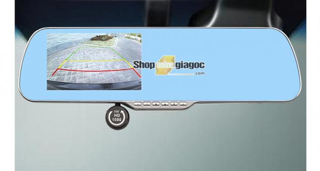 Combo Camera Hành Trình 5Inch Cảm Ứng HD Xoay 360 + Thẻ Nhớ 32G 5