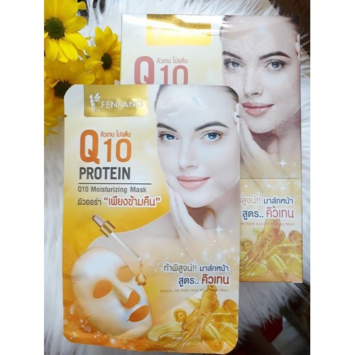 Mặt nạ Q10 FENFANG collagen