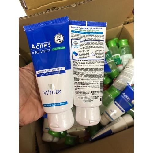 Sữa rửa mặt dưỡng trắng Acnes Pure White Cleanser 100g - 10919344 , 13277725 , 15_13277725 , 80000 , Sua-rua-mat-duong-trang-Acnes-Pure-White-Cleanser-100g-15_13277725 , sendo.vn , Sữa rửa mặt dưỡng trắng Acnes Pure White Cleanser 100g