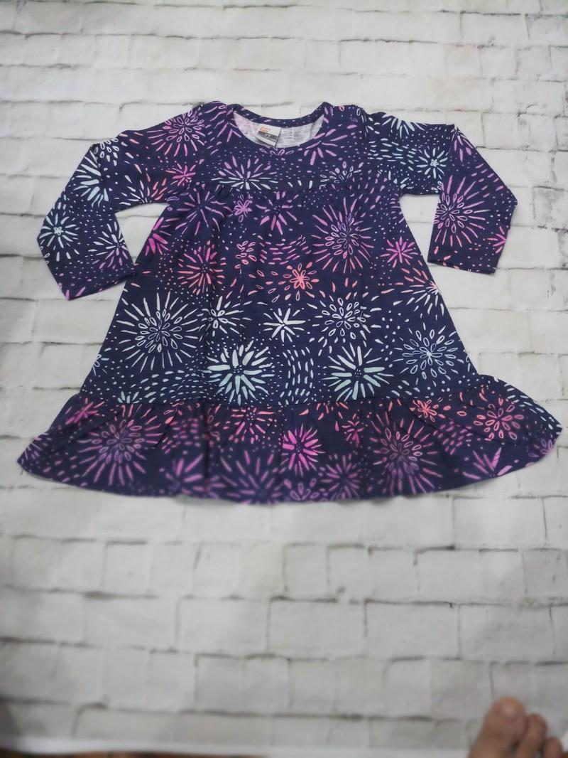 Sét 3 váy dài tay thu đông cho bé gái 1