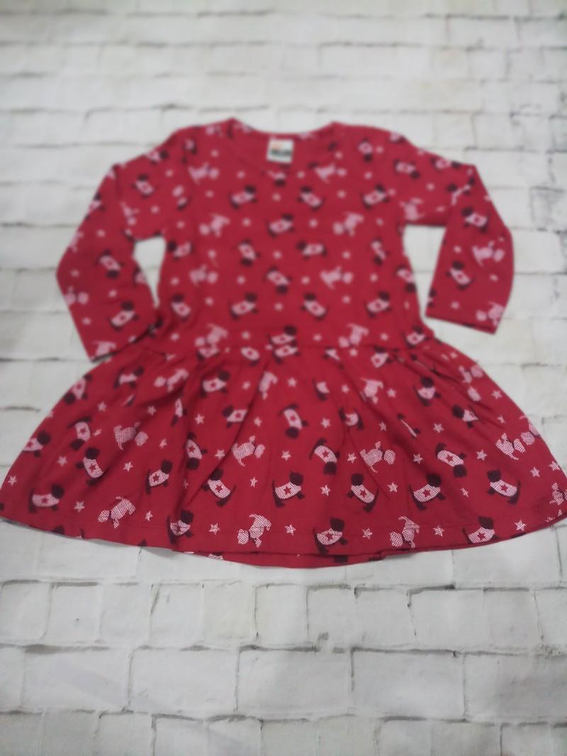 Sét 3 váy dài tay thu đông cho bé gái 5
