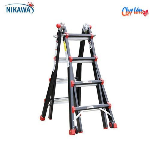 Thang nhôm gấp đa năng Nikawa NKB-43 - 6605505 , 13272554 , 15_13272554 , 2550000 , Thang-nhom-gap-da-nang-Nikawa-NKB-43-15_13272554 , sendo.vn , Thang nhôm gấp đa năng Nikawa NKB-43