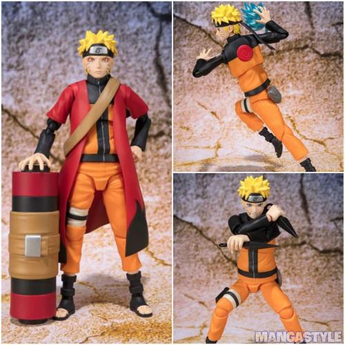 Mô Hình S.H.Figuarts Uzumaki Naruto Sennin Mode Advanced Ver