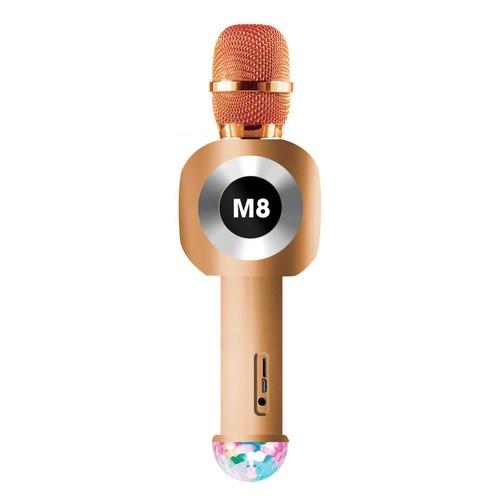 Micro Karaoke 3 IN 1 bluetooth M8 có led