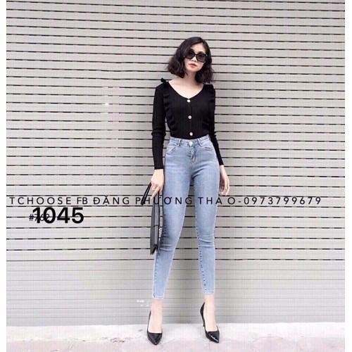 Quần jeans nữ dài thời trang giá rẻ - 6615380 , 13285080 , 15_13285080 , 155000 , Quan-jeans-nu-dai-thoi-trang-gia-re-15_13285080 , sendo.vn , Quần jeans nữ dài thời trang giá rẻ