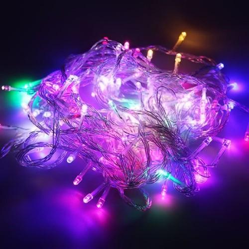 Combo 2 đèn chớp nháy đủ màu dài 8m trang trí