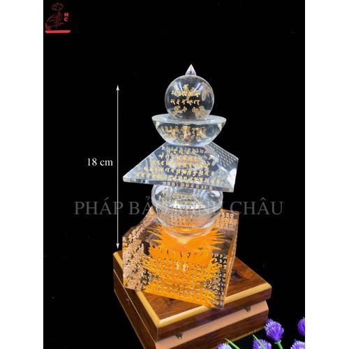 Tháp nguyên tố hoa to | Tháp xá lợi - 6626116 , 13297135 , 15_13297135 , 1425000 , Thap-nguyen-to-hoa-to-Thap-xa-loi-15_13297135 , sendo.vn , Tháp nguyên tố hoa to | Tháp xá lợi