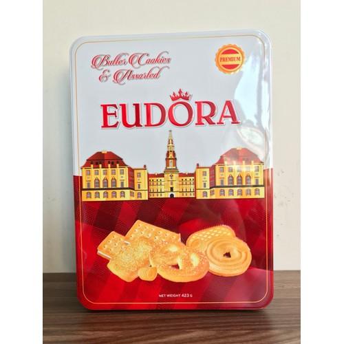 Bánh quy bơ tổng hợp Eudora 423g - Bánh Tết