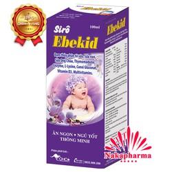 ✅ [CHÍNH HÃNG] Siro ăn ngủ ngon Ebekid - Bổ sung vi chất và vitamin cho bé, giúp ăn ngủ tốt, hỗ trợ hệ tiêu hóa