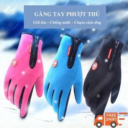 Găng tay chống nước- giữ ấm- có cảm ứng