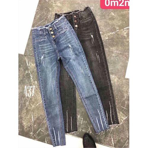 Quần jeans dài kiểu xì teen