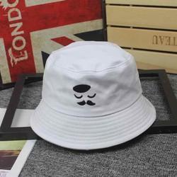 mũ bucket nón bucket mũ tai bèo Mũ đuôi dài cá tính