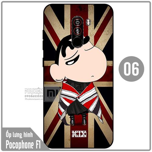 Ốp lưng hình TPU dẻo cho Xiaomi Poco Phone F1 - Số 6 - 6631892 , 13302594 , 15_13302594 , 50000 , Op-lung-hinh-TPU-deo-cho-Xiaomi-Poco-Phone-F1-So-6-15_13302594 , sendo.vn , Ốp lưng hình TPU dẻo cho Xiaomi Poco Phone F1 - Số 6